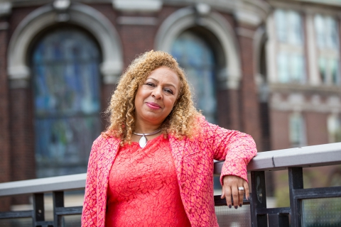 IRAAS faculty member Dr. Kellie Jones